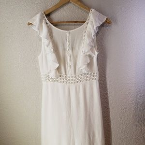 Forever 21 sleeveless prairie dress